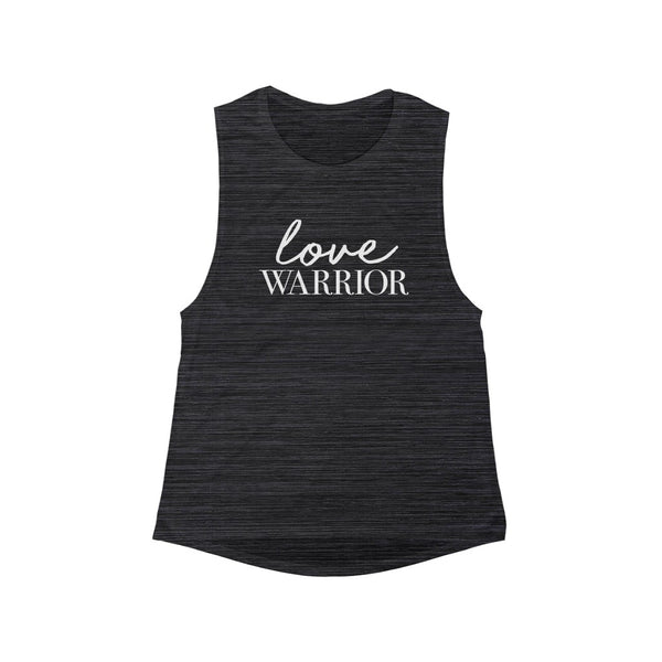 Love Warrior - Women's Flowy Scoop Muscle Tank