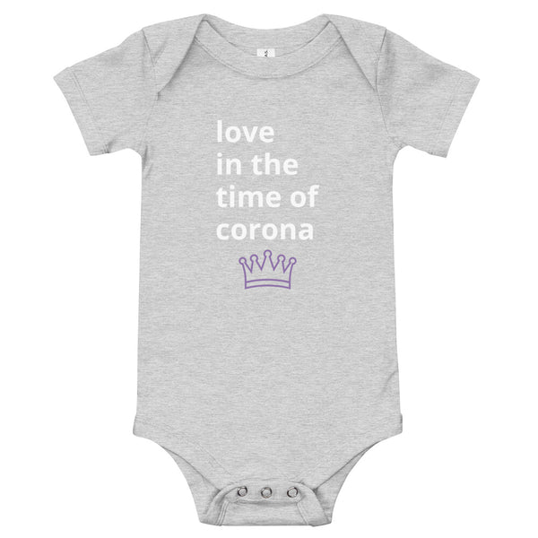 "Baby ""Love in the Time of Corona"" One-Piece"