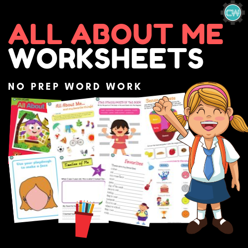 Theme-Based Learning: ALL ABOUT ME - CreativeWorksheets