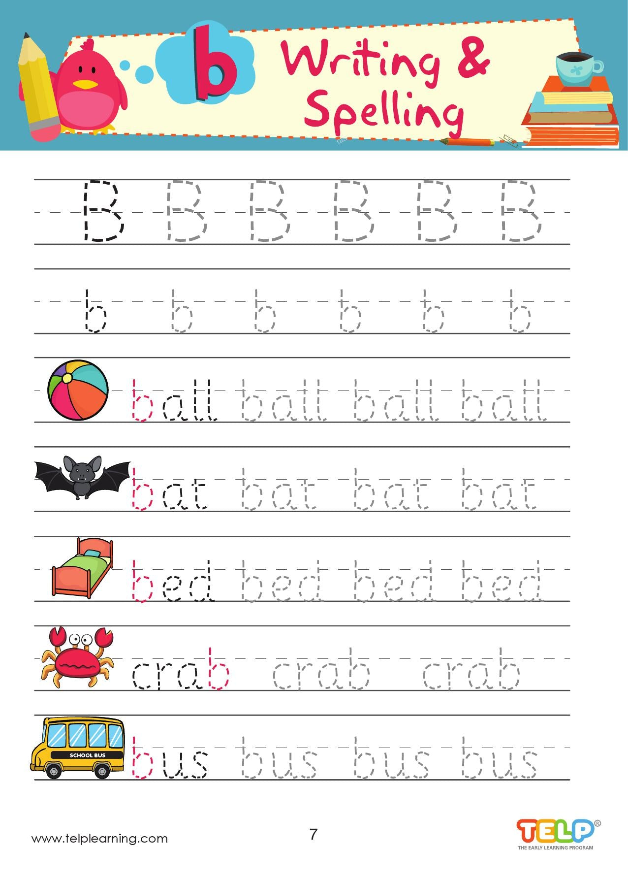 ABC - Handwriting / Tracing Set (A to Z) - CreativeWorksheets