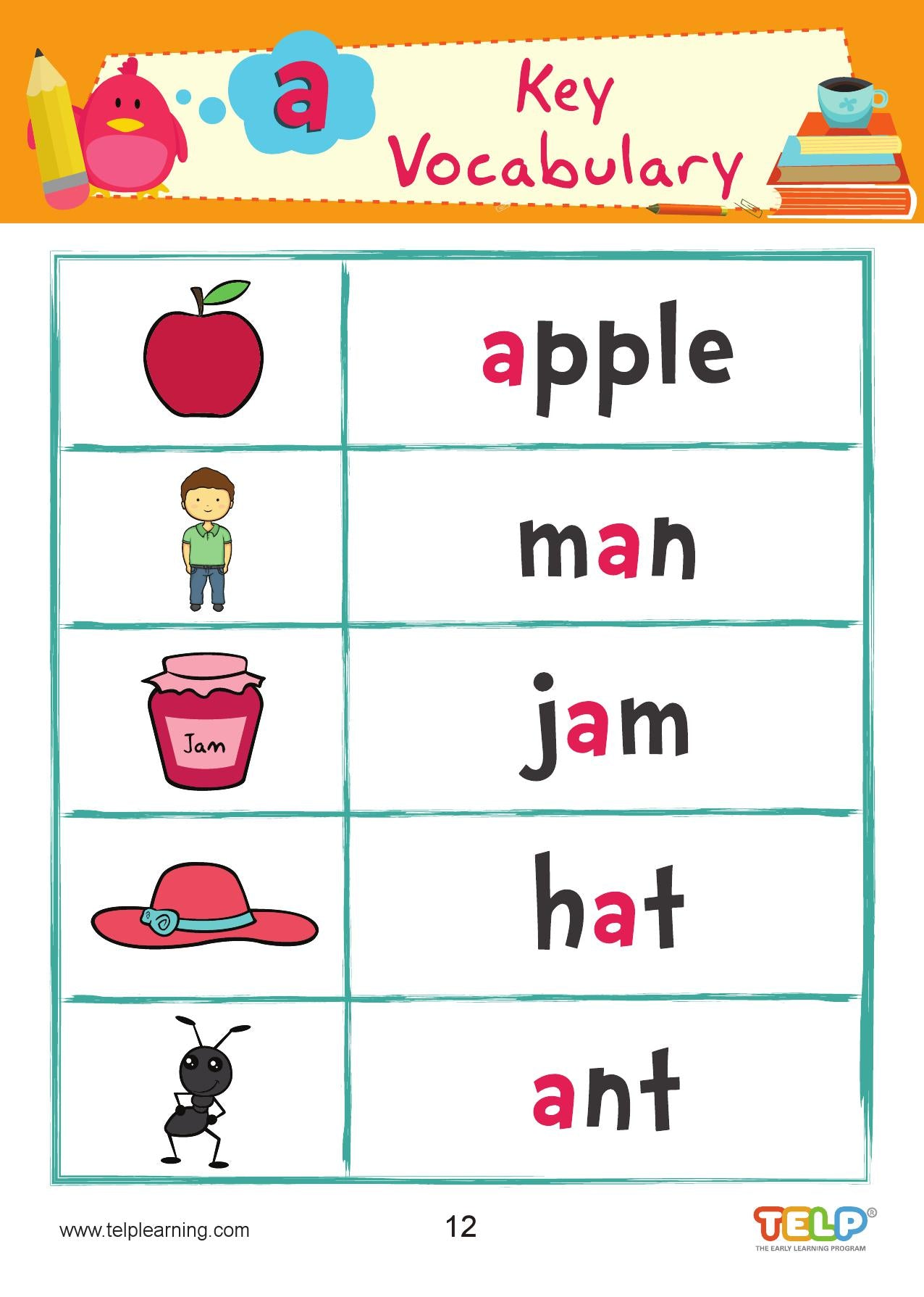 Phonics 2A - Introducing the sounds of the letters - S, A, T, I, P, N, C/K, E, H - CreativeWorksheets