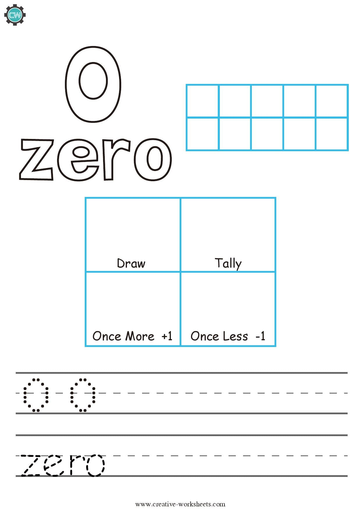 Counting 0 - 100 - CreativeWorksheets