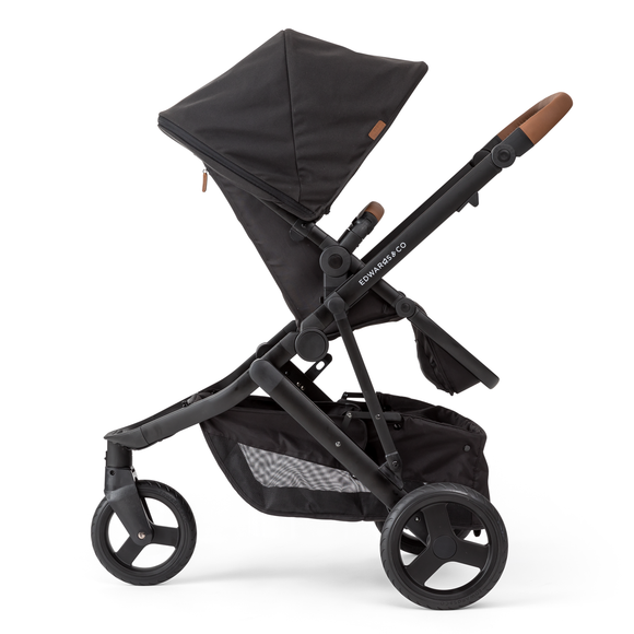 Edwards and Co Oscar Mx Stroller - Black and Smoke