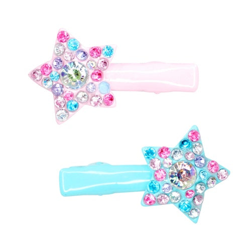 Playful Star with Gem Hairclip