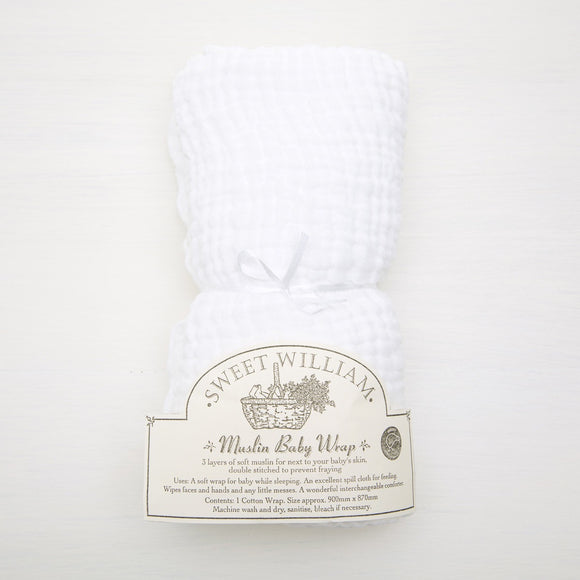 Sweet William Muslin Baby Wrap