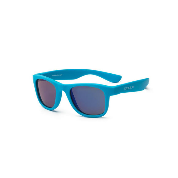KOOLSUN - Wave - Kids Sunglasses - Neon Blue