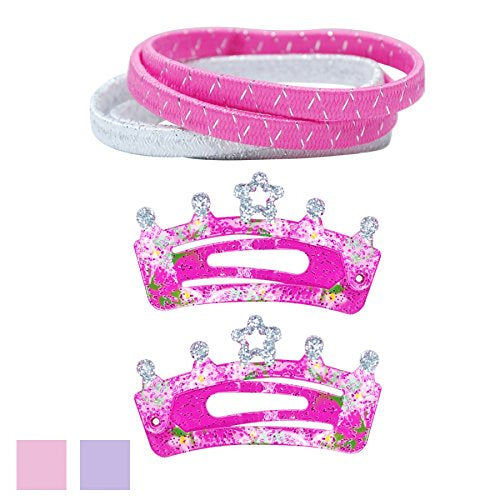 Crown Hair Accessories Set