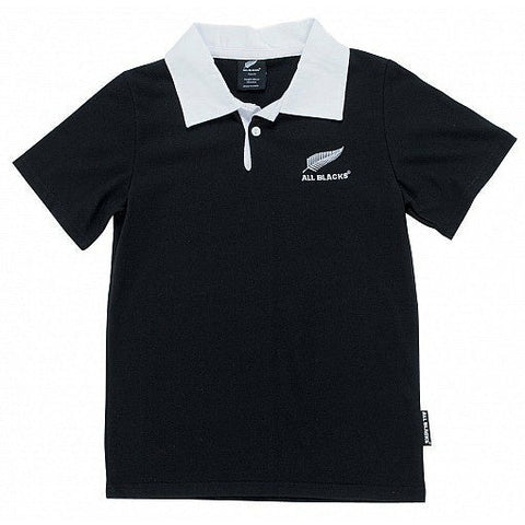 All Blacks Rugby Jersey - White Collar