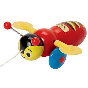 Buzzy Bee Wooden Pull Along Toy