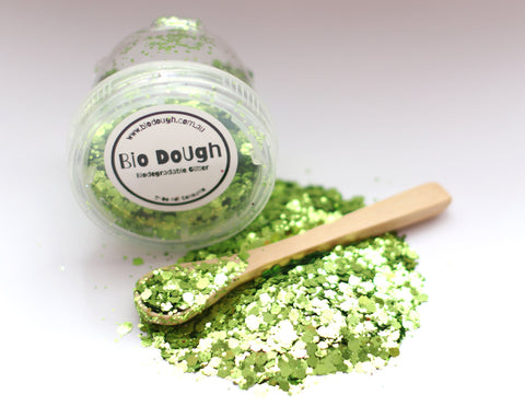 Biodegradable Glitter Green