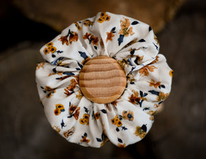 Wild Flower Scrunchie