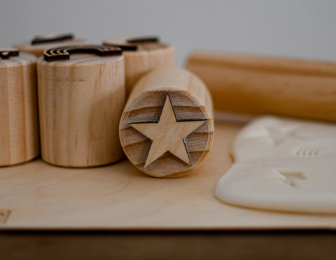 Modelling Dough Stamps - Star