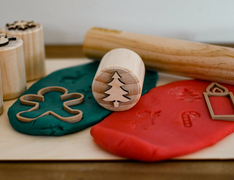 Modelling Dough Stamps - Christmas Tree