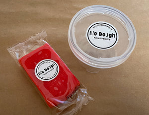 Red Strawberry Bio Dough + Lock & Stack Container