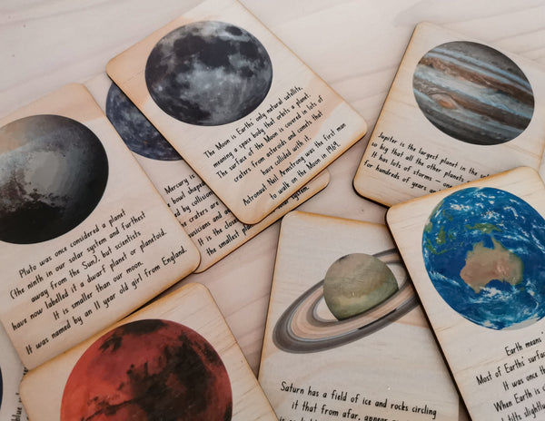 Outer Space Cards