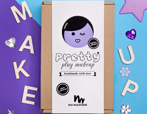 Nancy Purple Pretty Play Makeup Deluxe Box