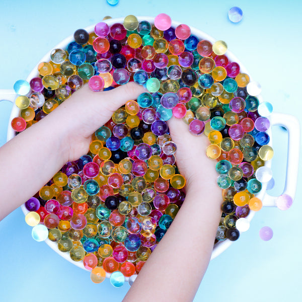 Biodegradable Rainbow Water Beads