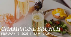 Saturday, February 13th: Champagne Brunch at Bluestone By Day
