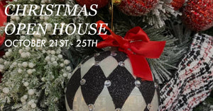 October 21st - 25th: Fortnight's Christmas Open House