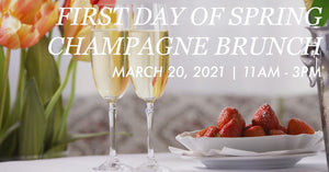 March 20th: First Day of Spring Champagne Brunch at Bluestone By Day