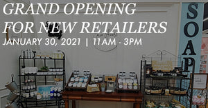 January 30th: Grand Opening for New Retailers