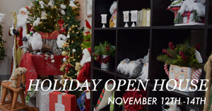 November 12th-14th: Holiday Open House 2020