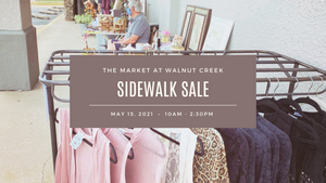 Sat. May 15th: Sidewalk Sale