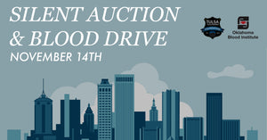 NOVEMBER 14th: Silent Auction for TPD Foundation & OBI Blood Drive