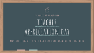 Tues. May 4th: National Teacher Appreciation Day