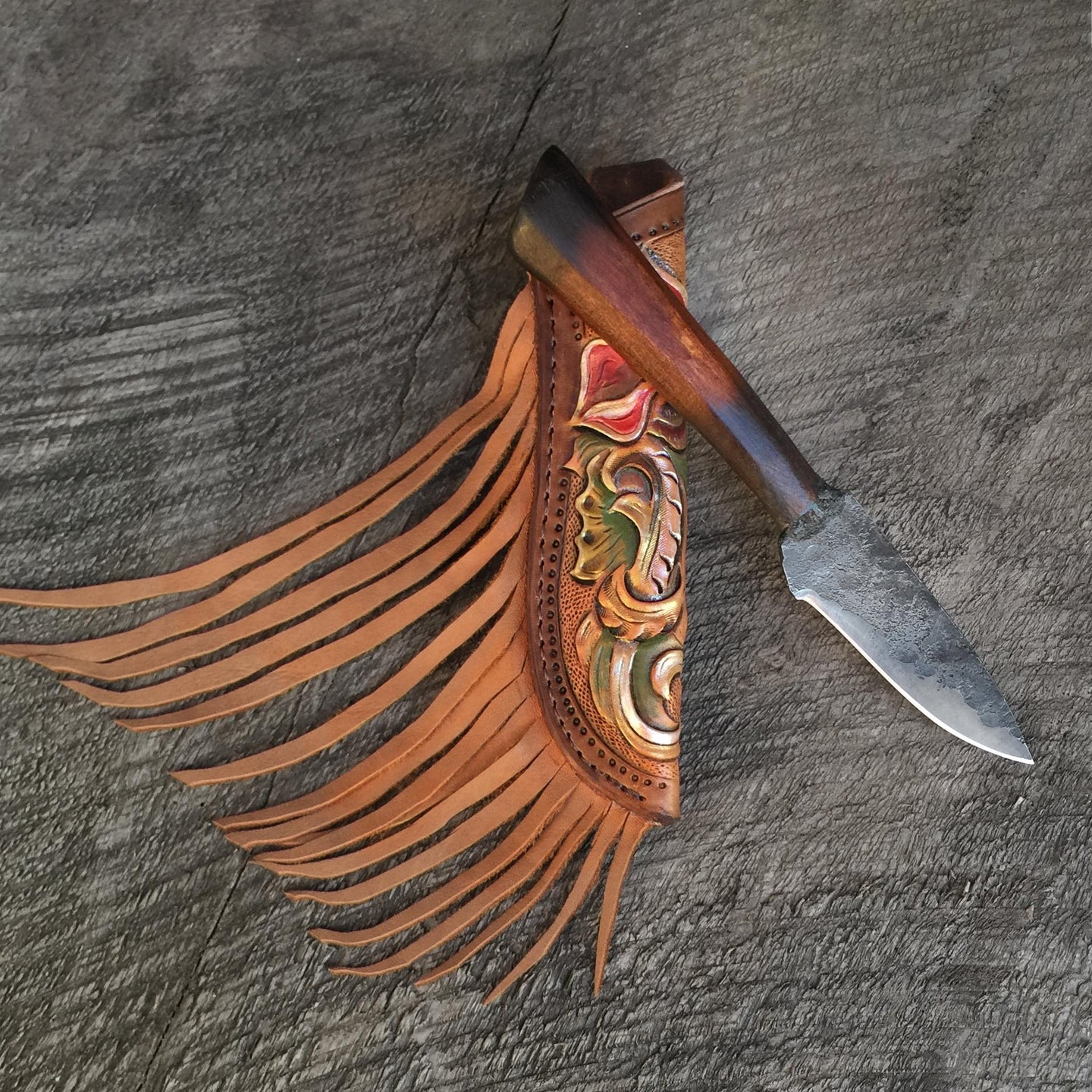 Prairie Rose Custom Knife