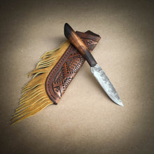Load image into Gallery viewer, Tall Grass Hunter Custom Hand Forged Knife