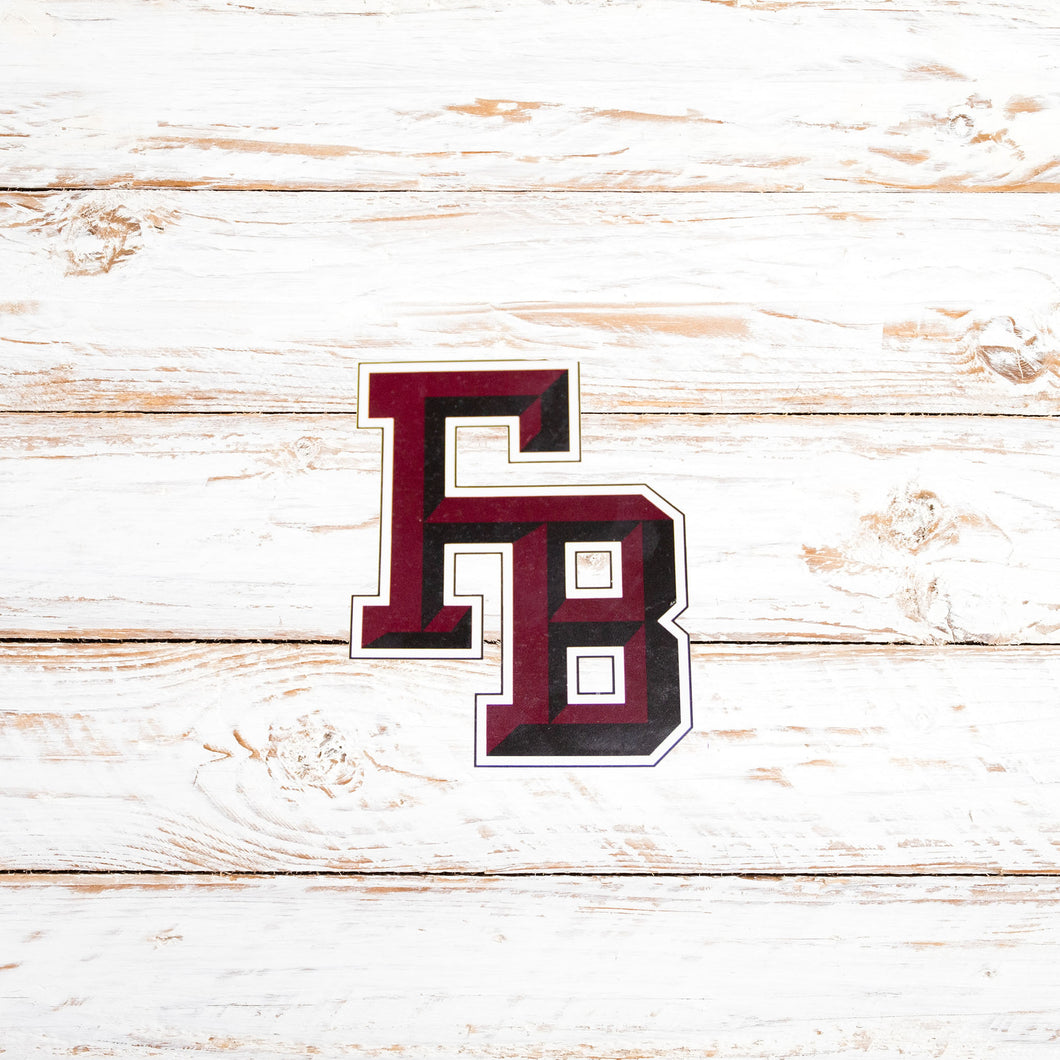 Beveled FB Decal