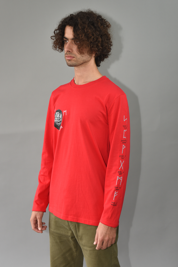 Sōzō 'Runez' Red Long Sleeve