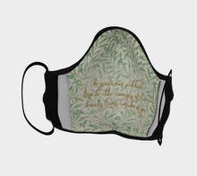 Load image into Gallery viewer, Vintage Willow Bough Pattern Face Covering - William Shakespeare