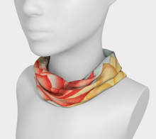 Load image into Gallery viewer, Red and Yellow Lotus Flower Headband - Kahlil Gibran