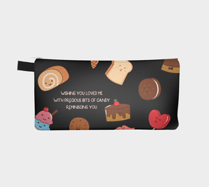 Cute Candy and Sweets Pencil Case -  Frank D. Sherman