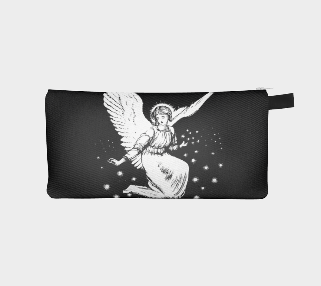 Vintage Victorian Angel Surrounded by Stars Pencil Case - Alice W. Brotherton