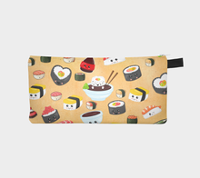 Load image into Gallery viewer, Cute and Happy Sushi Pencil Case - Yosa Buson