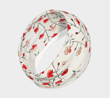 Load image into Gallery viewer, White Vintage Floral Pattern Headband from Bijutsu Sekai - Kobayashi Issa