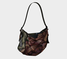 Load image into Gallery viewer, Fuchsia Chrysanthemum Vintage Art Origami Tote Bag- F.S. Flint