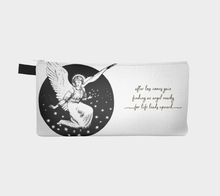 Load image into Gallery viewer, Vintage Victorian Angel Surrounded by Stars Pencil Case - Alice W. Brotherton