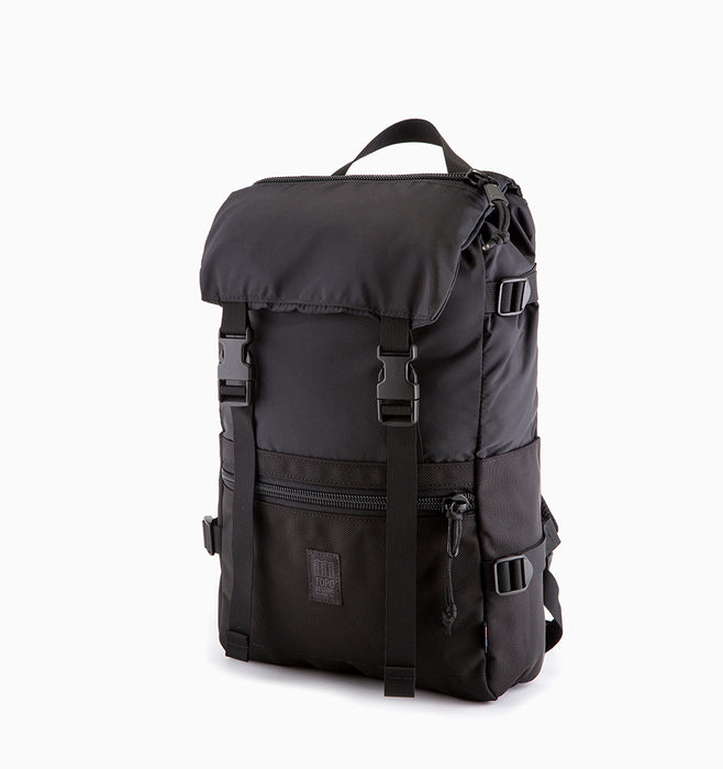 Topo Designs Rover Pack Laptop Backpack - Ballistic Black