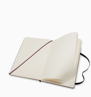 Moleskine Large Classic Squared Hardcover Notebook