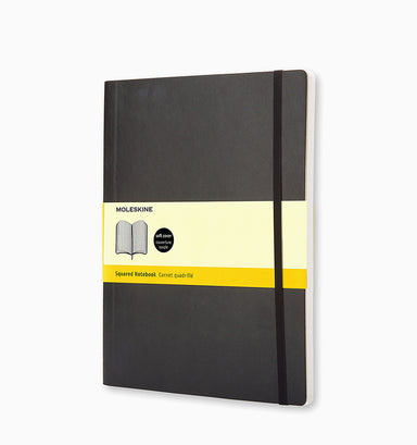 Moleskine Extra Large Classic Squared Softcover Notebook