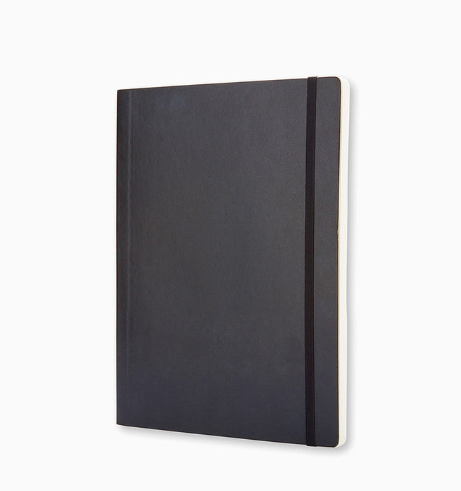Moleskine Extra Large Classic Squared Softcover Notebook - Black Squared