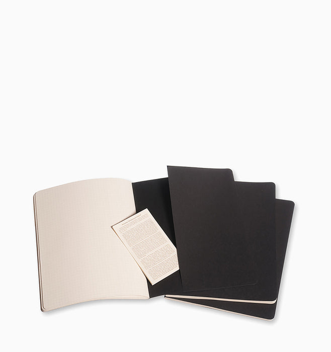 Moleskine Cahier Journal (3 Pack) - XL - Squared