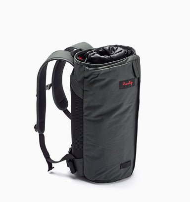 "Henty Wingman 16"" Laptop Garment Backpack Compact - Grey"