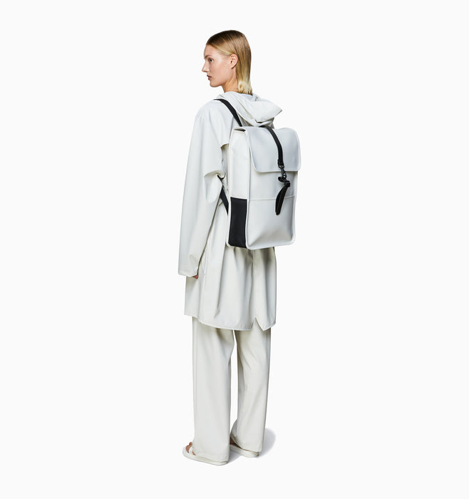 "Rains 13L 13"" Laptop Backpack - Off White"