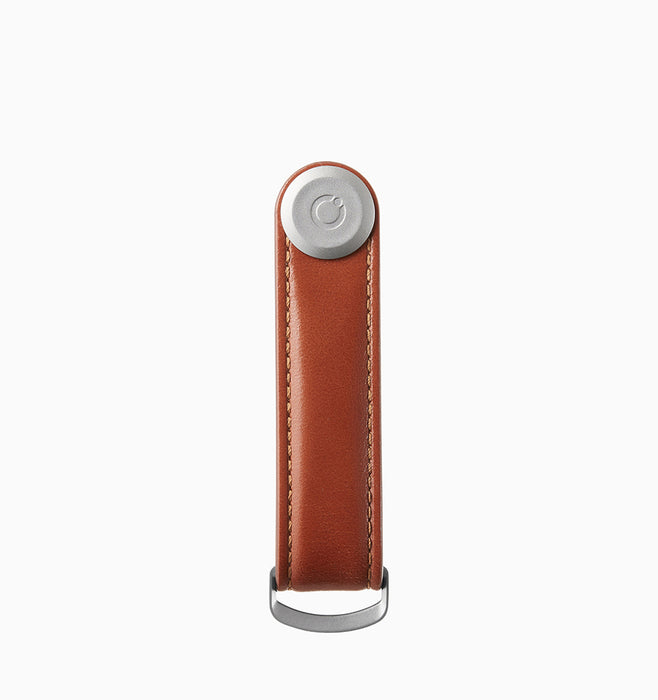 Orbitkey Leather 2.0 Key Organiser - Cognac Tan