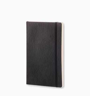 Moleskine Large Classic Dot Grid Softcover Notebook - Black